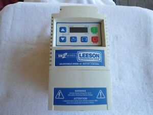 Leeson Adjustable Speed Ac Motor Control 240v 174615 00