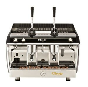 Astoria Al 2 Group Lever Gloria Commercial Espresso Machine Gas Or Electric