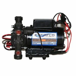 Everflo Efhp2000 12 volt Plunger Pump High Pressure
