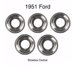 1951 Ford Shoebox Car Chrome Dash Bezel Kit