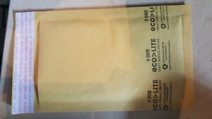 500 000 4x8 Kraft Bubble Mailers Padded Envelopes Bags Eco lite