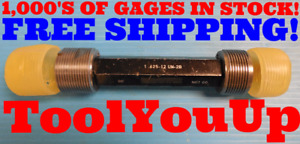 1 5 8 12 Un 2b Thread Plug Gage 1 62500 Go No Go P d s 1 5709