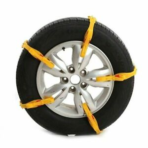 10pcs Universal Anti skid Tire Chains For Car Suv Snow Winter Emergency Driving