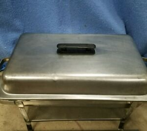 Restaurant Equipment Stainless Steel Full Size Chaffing Rack W Pan And Lid