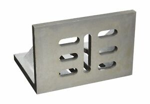 Hhip 3402 0312 12 X 9 X 8 Slotted Angle Plate Webbed 12 X 9 X 8 Size