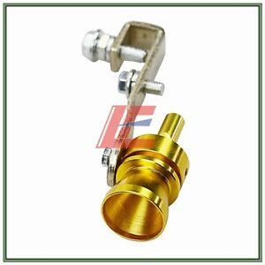 Turbo Sound Whistle Muffler Exhaust Pipe Valve Bov Simulator Whistler Golden Xl