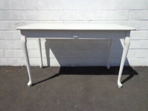 Desk Antique Work Table Regency French Provincial Writing Vanity Shabby Chic