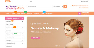 Beauty Profitable Affiliate Store Turnkey Business Website For Sale