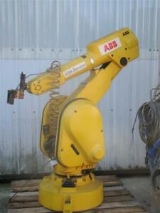 Abb Irb 2000 6 axis Robot Arm And Controller