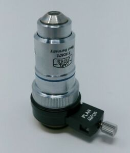 Zeiss Microscope Objective Neofluar 40x Phase 2 With Dic Prism Slider
