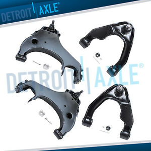 Front Upper Lower Control Arm For 2000 2001 2002 2003 2004 Nissan Xterra