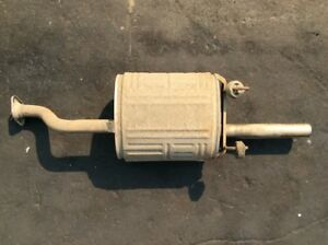92 93 94 95 Civic with Abs 2dr 4dr Muffler Exhaust End Pipe Used Oem