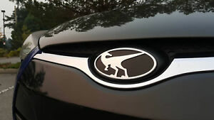 Raptor Front Emblem For Hyundai Veloster Veloster Turbo 2012 2017 Chrome