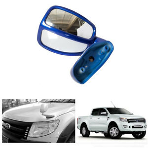 Left Side Wing Fender 2 View Mirror For Ford Ranger T6 Pickup Aurora Blue