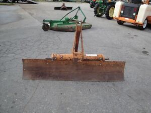 Nice Wood s Rb72 6 Foot Angle And Tilt 3 Point Hitch Scrape Blade
