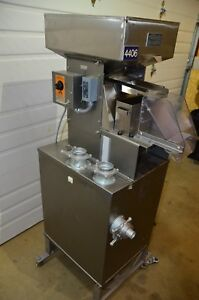 Lakso Model 64 Stainless Steel Tablet Deduster Torit 54 Cabinet Dust Collector