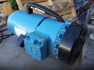 Thomas Vacuum Pump Gh 4vb 168648 1 3hp 115 230v Oilless 2 Cylinder Sale 199