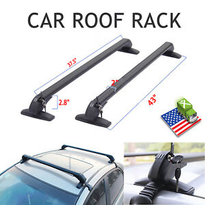For Honda Civic Accord Mazda 3 Suv 43 Universal Car Roof Rack Carrier Cross Bar