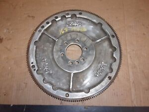 Old Vintage Schiefer Rare Embossed Chevy Flywheel 168 Tooth Rat Hot Rod Aluminum