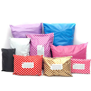 50 Polythene Mailers Shipping Envelopes Self Seal Plastic Mailing Bags Packaging