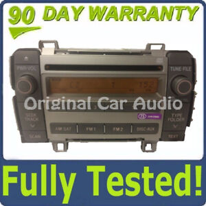 2009 2010 Toyota Matrix Oem Am Fm Xm Radio Stereo Mp3 Cd Player 86120 02710