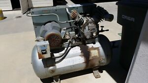 Ingersoll Rand Air Compressor Model Type 30 3tm 60 Gallon Tank 5 Hp Motor