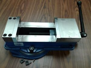 6 Ang down lock Milling Machine Vise X large Opening 8 Swivel Base 850 600l