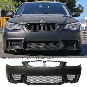 1m Body Kit Full Front Bumper Cover 2004 2010 Bmw E60 5 Series Plastic W O Pdc