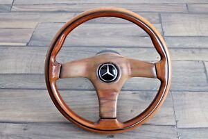 Mercedes Benz Nardi Wood Steering Wheel 360mm W123 W124 W126 W201 W202
