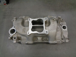 Weiand Action Plus Intake Manifold 8005 Bbc Oval Port