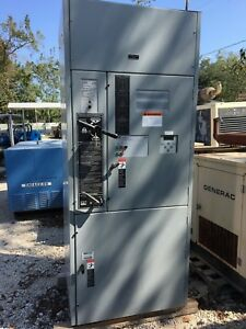 Asco 800 Amp 7000 Series Automatic Transfer Switch With Bypass Isolation 480volt