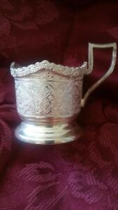 Hand Made Persian Solid Silver Tea Set