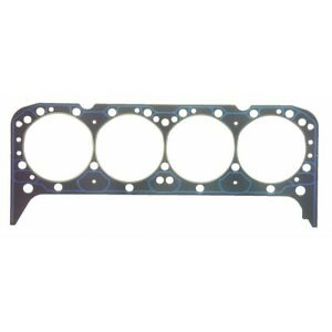 New Fel Pro Cylinder Head Gasket 8651pt Chevy Small Block 5 7 350 327 V8 1955 76