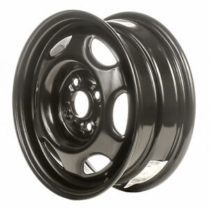 60165 Reconditioned Oem Steel Wheel 14x5 5 Black Painted