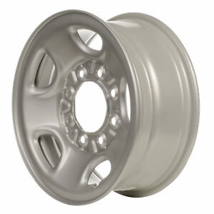 05195 Chevrolet 2500 Series Silverado 1999 2010 16 Inch Used Silver Steel Wheel