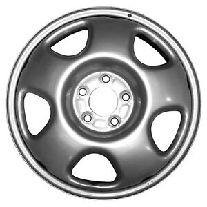 63927 Oem Reconditioned Steel Wheel 17x6 5 Silver Full Face Painted