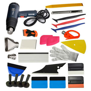 Car Wrap Application Tools Vinyl Squeegee Felt Auto Film Installation Tools Kit