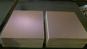 50 Pcs Copper Clad Circuit Board Laminate 4 x 5 7 8 060 1 2 Oz Double Sided