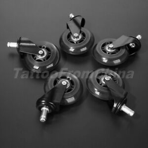 1 5pcs 3 Office Chair Caster Wheel Replacement Roller Heavy Duty Floor Protect
