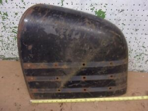 1948 Chevy Car Left Door Pocket Body Panel Fender Rat Rod Man Cave Molding Hol N
