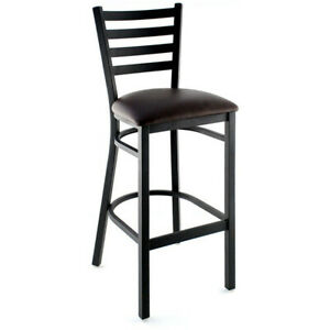 Wholesale Price New Commercial restaurant Ladder Back Metal Bar stool