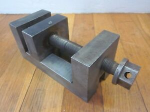Machinist Toolmaker Lathe Mill Precision Ground Vise Grinding Drill Press Tool