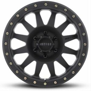 Method Race Wheels Mr30489080518 18 X 8 Double Standard Matte Black Wheel