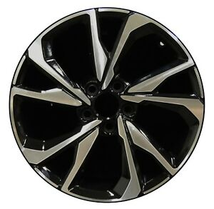 18 Honda Civic Si Coupe 2017 2018 Factory Oem Rim Wheel 64108 Gloss Black