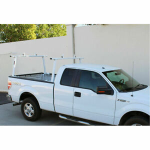 Adjustable Aluminum 800lbs Pickup Truck Ladder Rack Cargo Utility Lumber Kayak