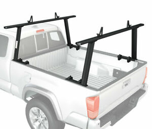 Adjustable Aluminum Pickup Truck Ladder Racks 800lb Universal Lumber Utility