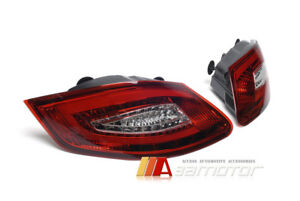 Taillights Led Tail Rear Light Red Clear For 05 08 Porsche Boxster 987 Cayman