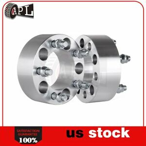2pcs 2 Thick 5x4 5 Wheel Spacers For Ford Mustang Crown Victoria Lincoln Jeep