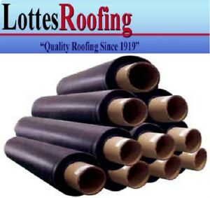 10 Rolls 60 Mil 10 X 100 Black Epdm Rubber Roof Roofing