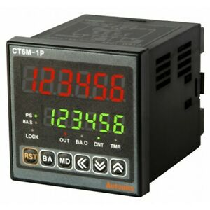 Programmable Timer Counter Ct6m 2p4 2 Stage Preset 6 digit Din W72 X H72mm